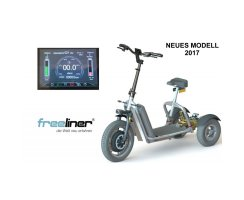 Freeliner 3-rädriger E-Scooter NEUES MODELL 2019
