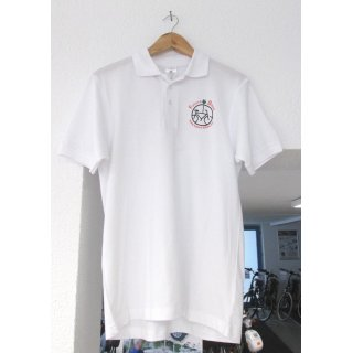 Polo-Shirt weiß FUTURE-BIKES Gr. XL