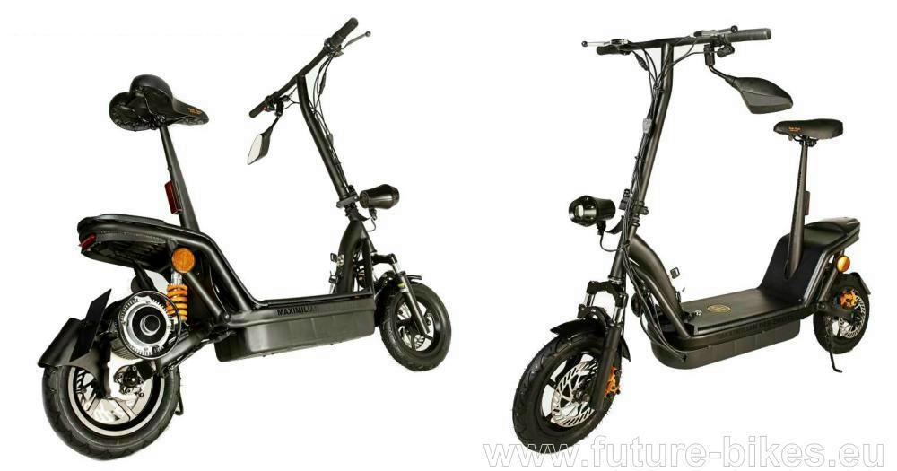 future bikes elektroroller e scooter e bikes in 74564. Black Bedroom Furniture Sets. Home Design Ideas