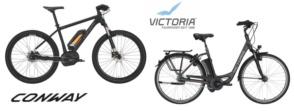 Conway Mountainbikes & Victoria Citybikes