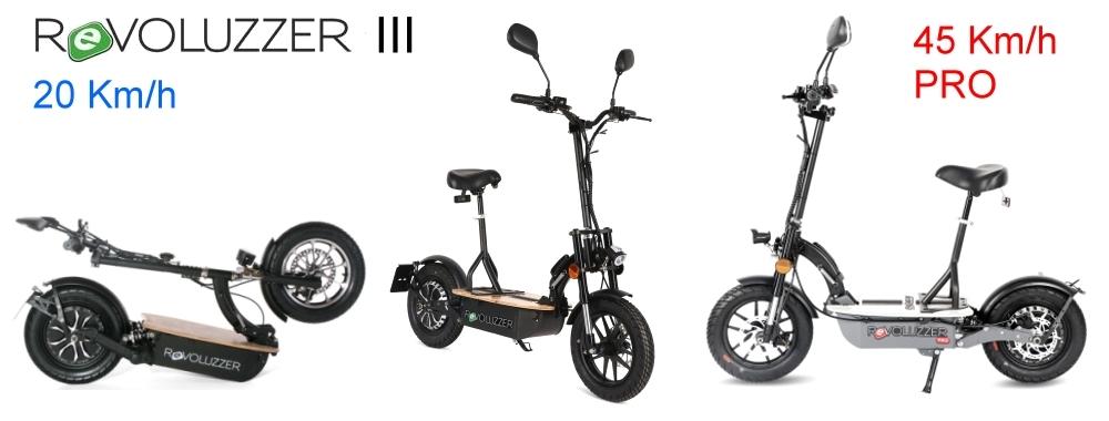 Revoluzzer III - 20 Km/h oder 45 Km/h