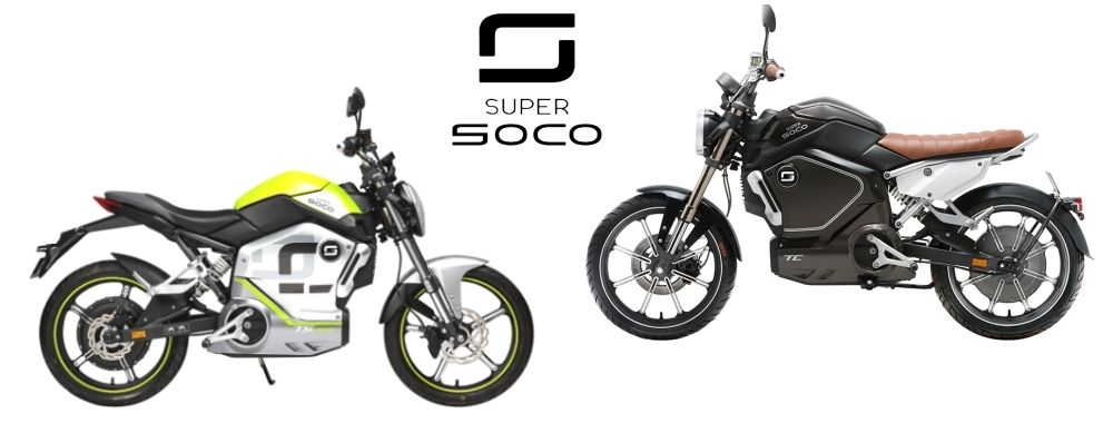 SuperSoco - Stylische Mopeds bis 45 Km/h