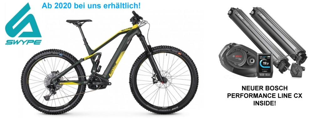 NEU! Swype High-End Mountainbikes